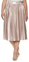 Rachel Roy Pleated Flare Skirt