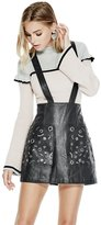 GUESS Rona Faux-Leather Jumper Skirt