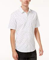 American Rag Men's Slim-Fit Mini-Pine Tree Shirt, Created for Macy's