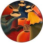 Novica Cuzco Ceramic Decorative Bowl, 'Women Of The Andes'