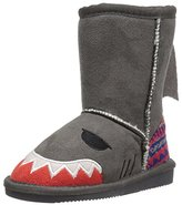 Muk Luks Kids' Animal Grey Shark Pull-On Boot