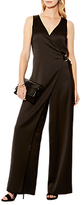 Karen Millen Tailored Soft Jumpsuit, Black