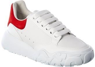 Alexander McQueen Court Trainer Leather Sneaker