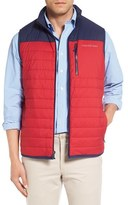 Vineyard Vines Vineyard Vest Zip Pocket Channel Quilted Vest