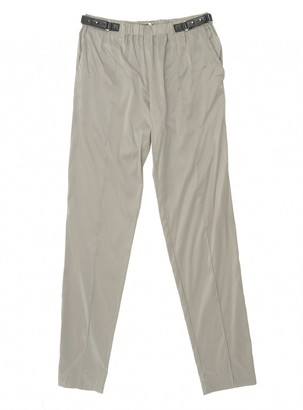 Gucci Beige Cloth Trousers for Women Vintage
