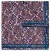 Turnbull & Asser Paisley Print Pocket Square