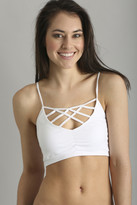 Seams Lovely Strappy Front Crop Bra