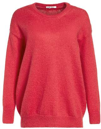 Max Mara Relaxed Mohair-Blend Knit Sweater