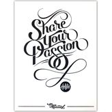 Dormify Holstee Share Your Passion Print