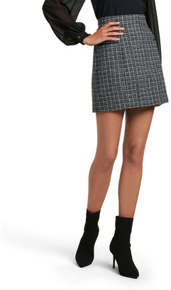Forever New Bethany Boucle Mini Skirt