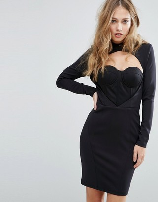 Asilio Heavy Night Dress-Black