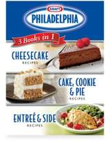 Publication International Kraft Philadelphia® 3 CookBooks in 1: Cake, Cookie & Pie Entree & Side Dish Cheesecake Recipes