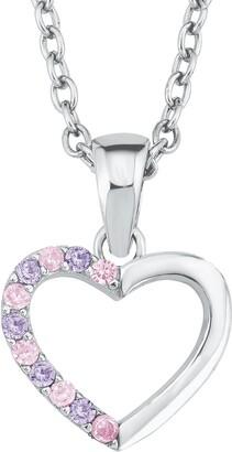 Prinzessin Lillifee Girls Silver Pendant Necklace - 2021107