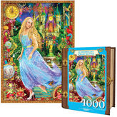 NEW MasterPieces Jigsaw Book Cinderella's Glass Slipper 1000pc