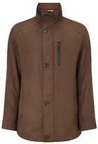 Bugatti 82cm Microma Velours Jacket, Brown