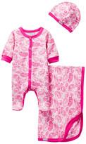 Coccoli Paisley Footie, Blanket, & Cap Set (Baby)