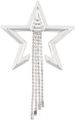Coup De Coeur Star drapped brooch