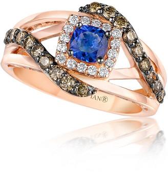 LeVian Le Vian 14K Strawberry Gold 1.11 Ct. Tw. Diamond Ring