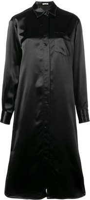Bottega Veneta Loose-Fit Shirt Dress