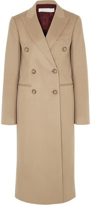 Victoria Beckham Double-breasted Cashmere-felt Coat
