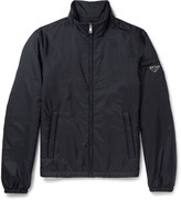 Prada Slim-Fit Padded Nylon Bomber Jacket