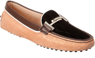 Tod's TodS Leather & Suede Loafer