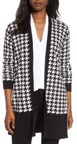 Chaus Women's Houndstooth Cardigan