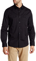 Kenneth Cole New York Long Sleeve Stretch Militia Shirt