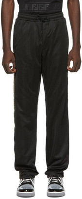Fendi Black Forever Tape Lounge Pants