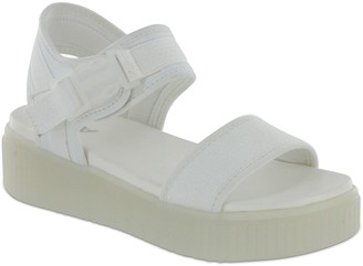 Mia Amore Nylon Webbed Strap Sandals - Jacey