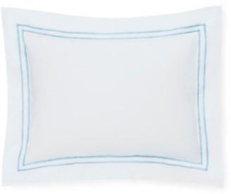 Sferra Grande Hotel Boudoir Sham - White/Blue