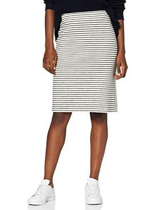 Esprit edc by Women's 047CC1D0 Skirt, (White 110), 10 (Size: Small)