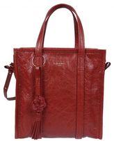 Balenciaga Red Bazar Shopper Bag