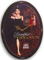 Lyon's Breakfast at Tiffany's Audrey Hepburn Wall Clock
