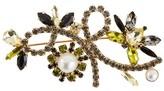 Erdem Crystal Bee brooch