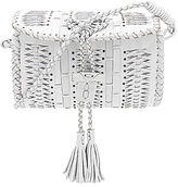 Cleobella Stone Free Medium Crossbody Bag in White.