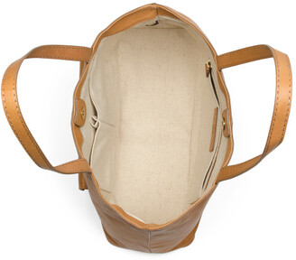 Leather Madison Harness Ring Tote