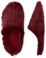 Isotoner Faux Fur Gina Slip-On Slippers