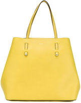Furla plain tote bag - women - Leather/Nylon/Polyurethane - One Size