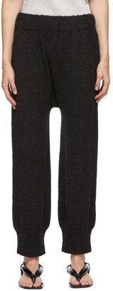 LAUREN MANOOGIAN Black Arch Pants