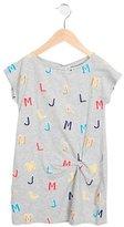 Little Marc Jacobs Girls' Logo Print Shift Dress w/ Tags