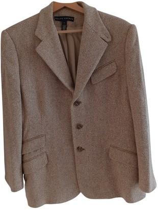 Ralph Lauren Brown Silk Jackets