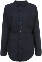 NSF striped belted shirt