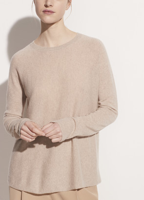 Vince Cashmere Drop Shoulder Crew