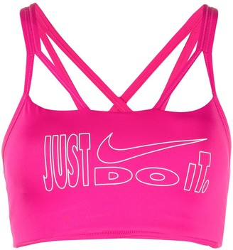 Nike Slogan Print Performance Top