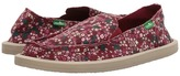 Sanuk Ditsy Donna Women's Slip on Shoes