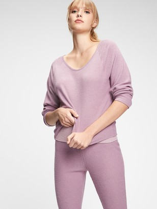 Gap Adult Sleep Softspun Ribbed Pullover