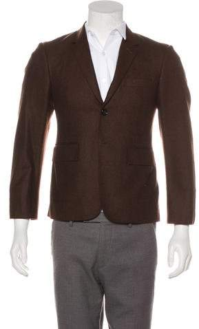 Thom Browne Wool Two-Button Blazer