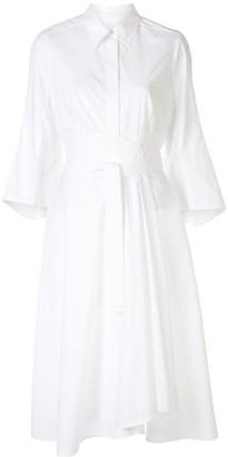 Paule Ka Wrap Shirt Dress