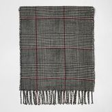 River Island Boys grey check scarf